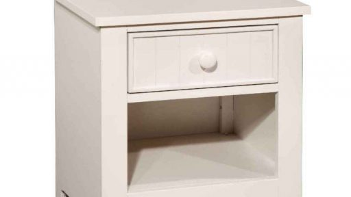 White Twin over Twin Bunk Bed With Trundle and Drawers-nightstand-kidsroom.vip