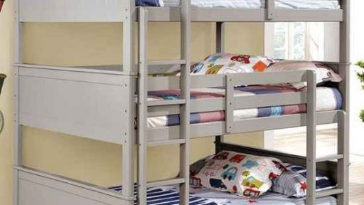 """Badger Brock's"" Full Triple Decker Bunk Bed – 2 Colors – ALMOST GONE!"