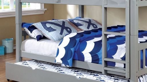 """Jakelynn Jackal"" Full over Full Bunk Bed w/ Trundle – 3 Colors – COMING IN JUNE!"