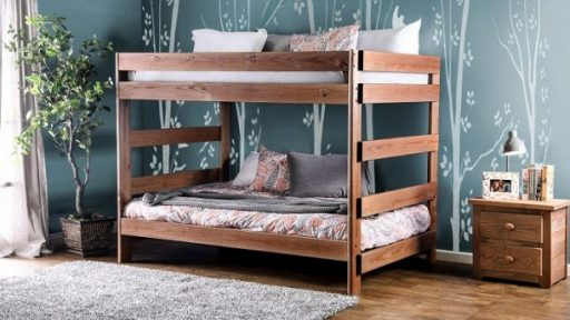 """Kensington Tractor"" Farmhouse Full Over Full Bunk Bed"