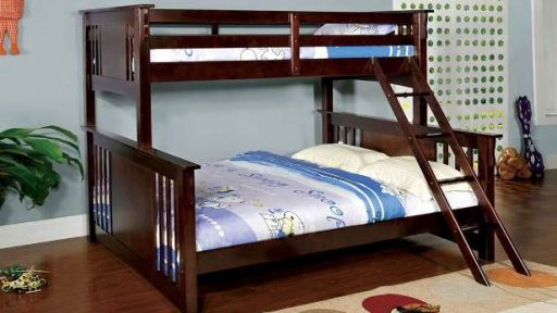 """Lucky Lake House"" Twin XL over Queen Bunk Bed – 3 Colors!"