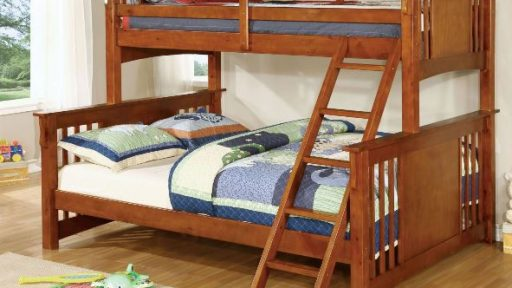 """""""Lucky Lake House"""" Twin XL over Queen Bunk Bed – 3 Colors!"""