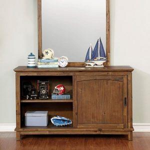 Padded Headboard Bedroom Set with trundle-dresser- kidrsoom.vip