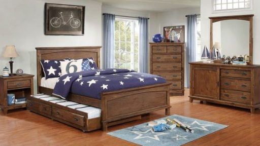 """""""Little Treasure"""" Bedroom Set With Wood Headboard and Trundle – COMING IN MARCH!"""