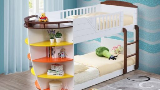 """Poseidon Parrot"" Twin over Twin Bunk Bed"