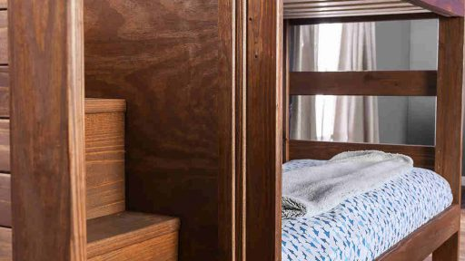Twin Bunk Bed with Staircase Storage - kidsroom.vip