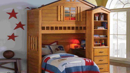 TREE HOUSE LOFT BED-KIDSROOM.VIP