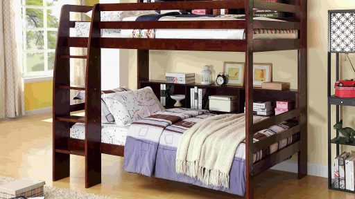twin over twin bed with storage- kidsroom.vip