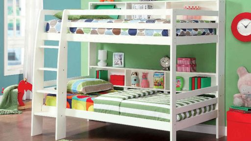twin over twin bed with stairs- kidsroom.vip