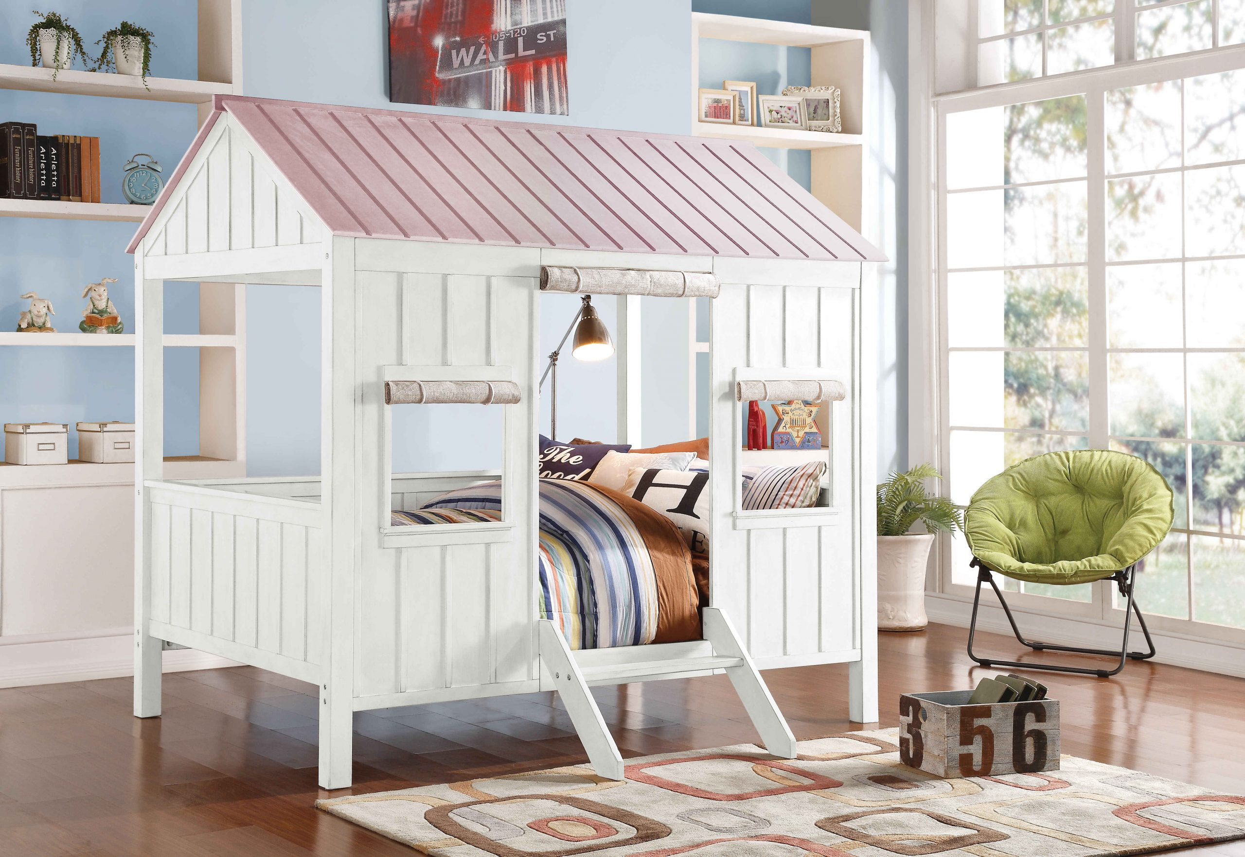 Cottage House Bed Full Size - kidsroom.vip